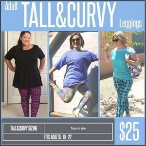 LuLaRoe Pants - Lularoe | Tall & Curvy | leggings